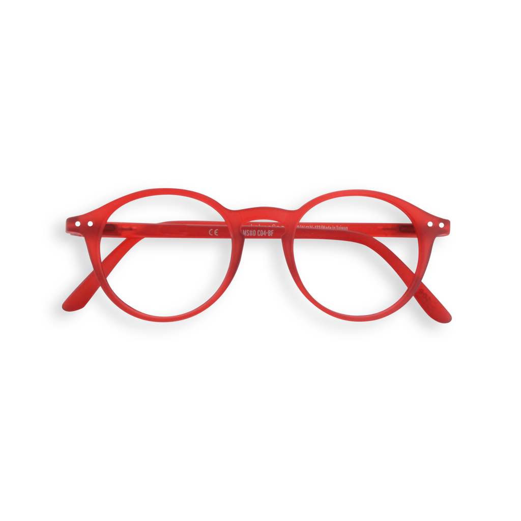 Junior Screen Glasses - D - Red Crystal