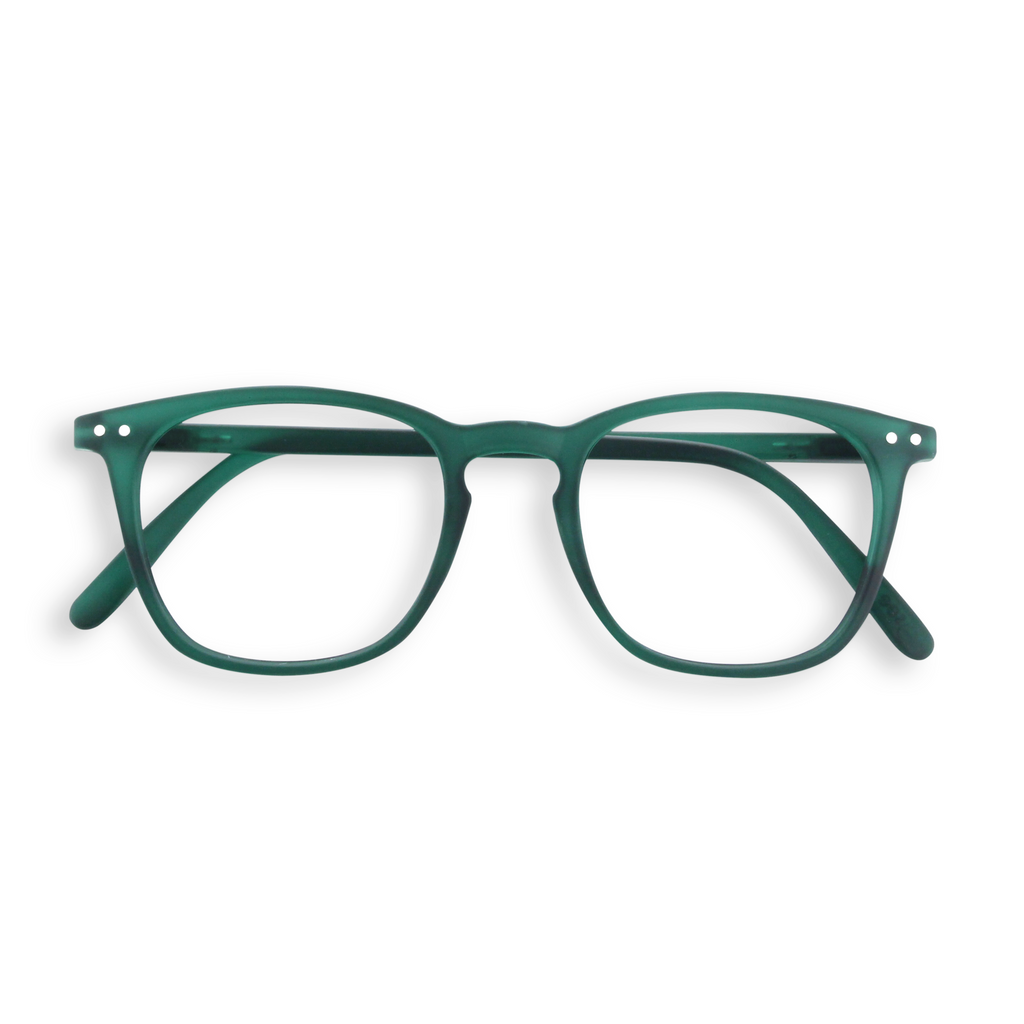 Reading Glasses - E - Green Crystal
