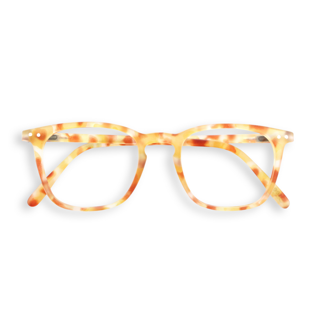 Reading Glasses - E - Yellow Tortoise