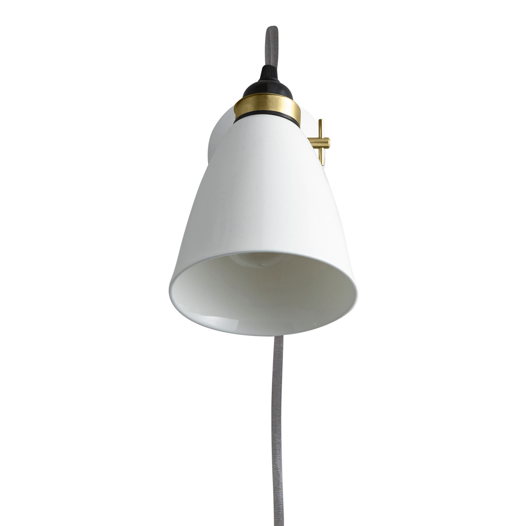 Hector 30 Wall PSC, Switched, Satin Brass