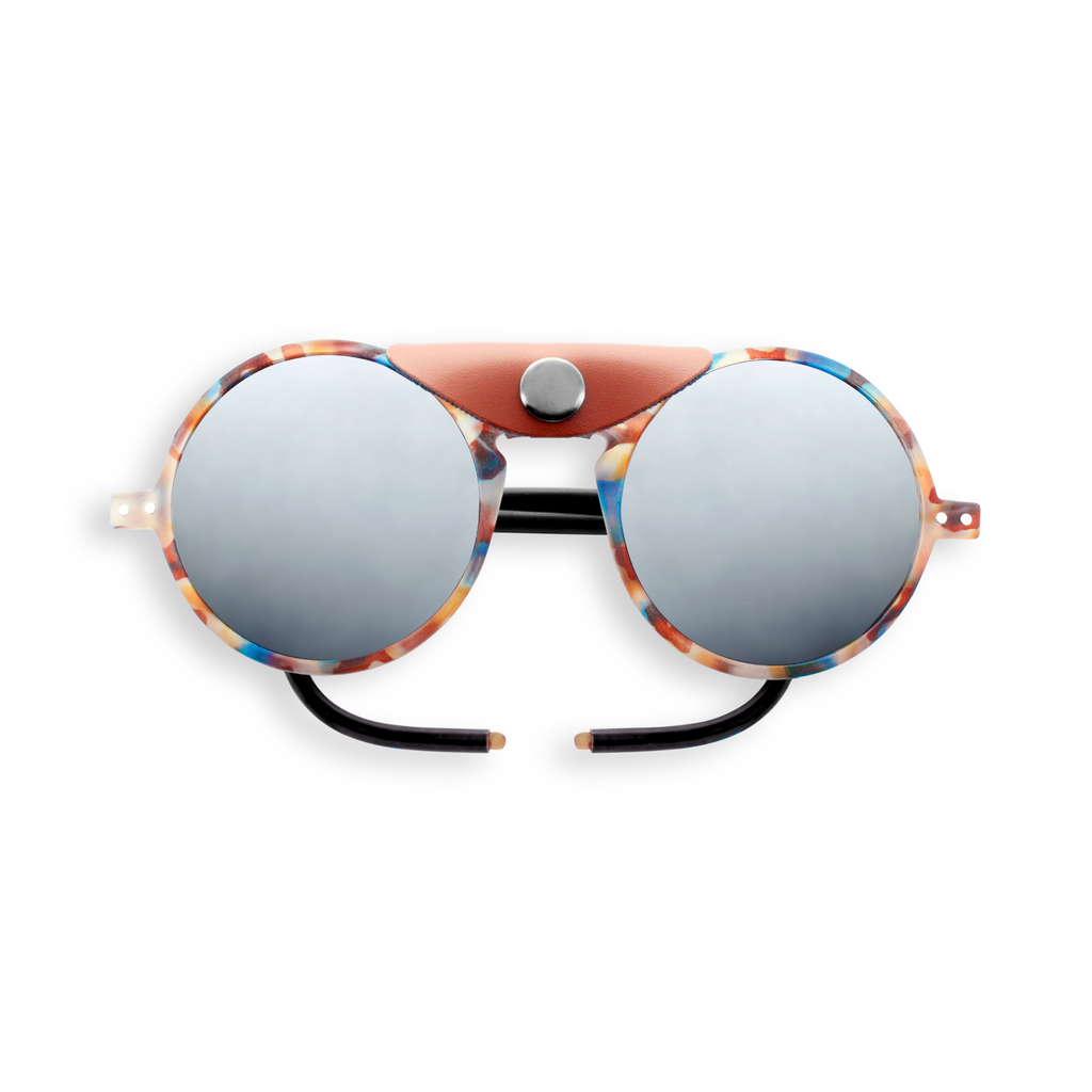 Glacier Sunglasses - Blue Tortoise - Category 4