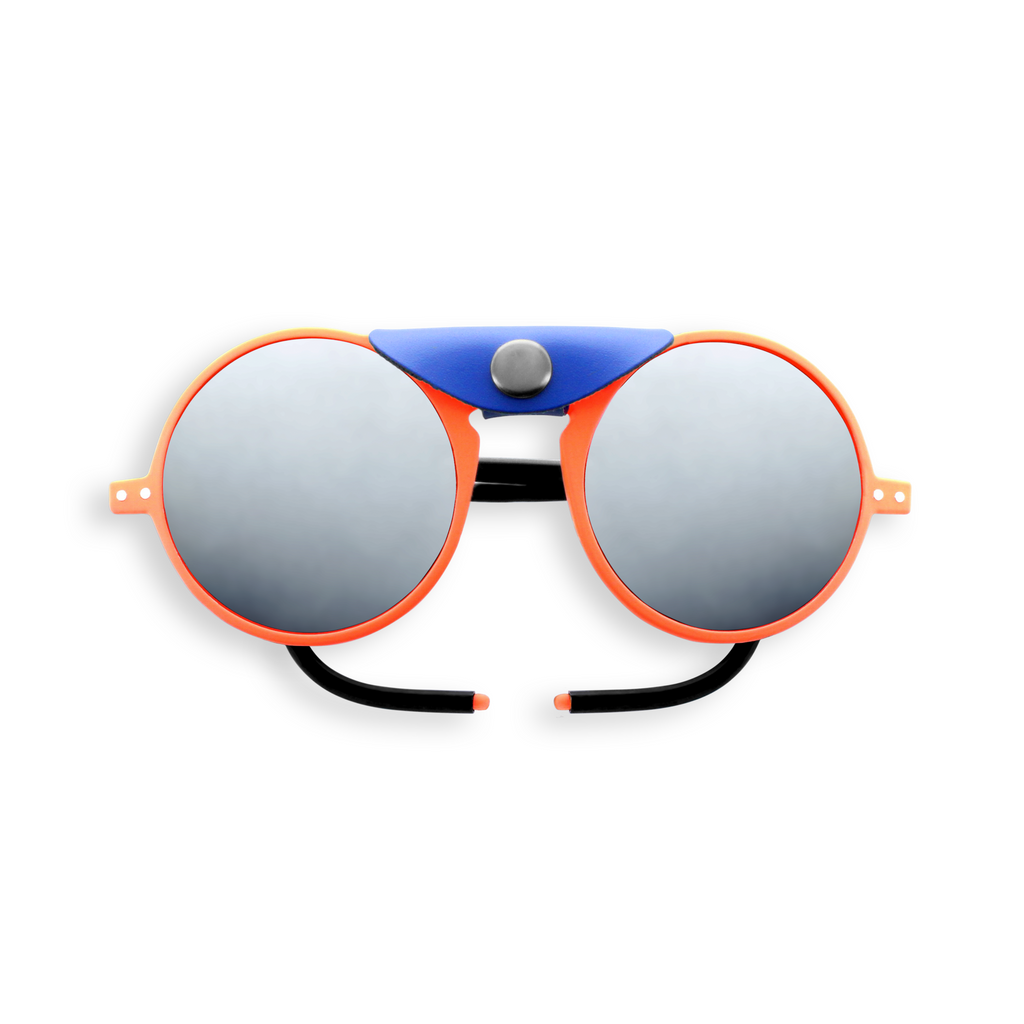 Glacier Sunglasses - Orange - Polarized