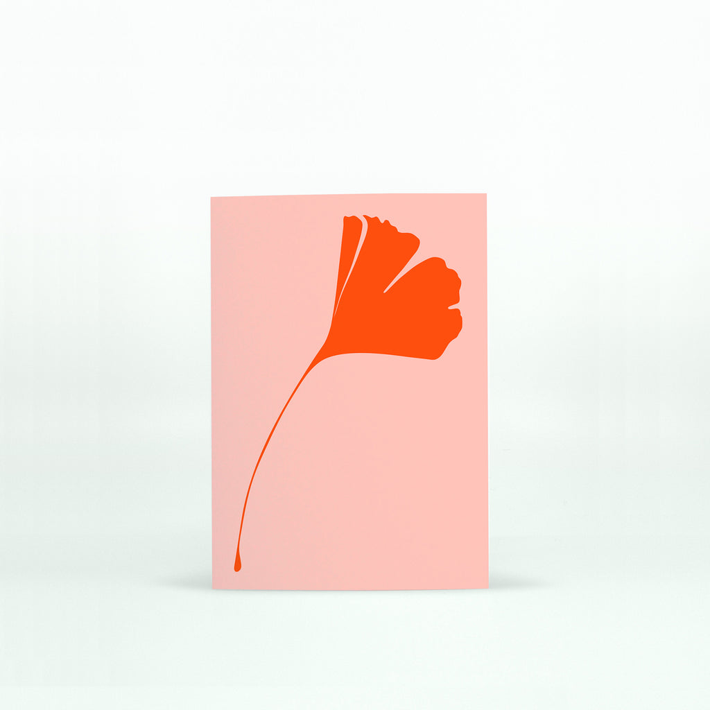 Ginkgo Pop Mini Notecard