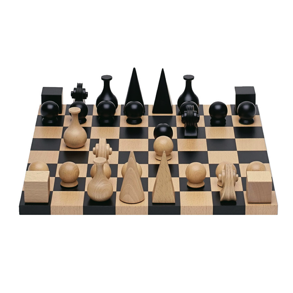 Man Ray Chess Pieces (Pieces Only)
