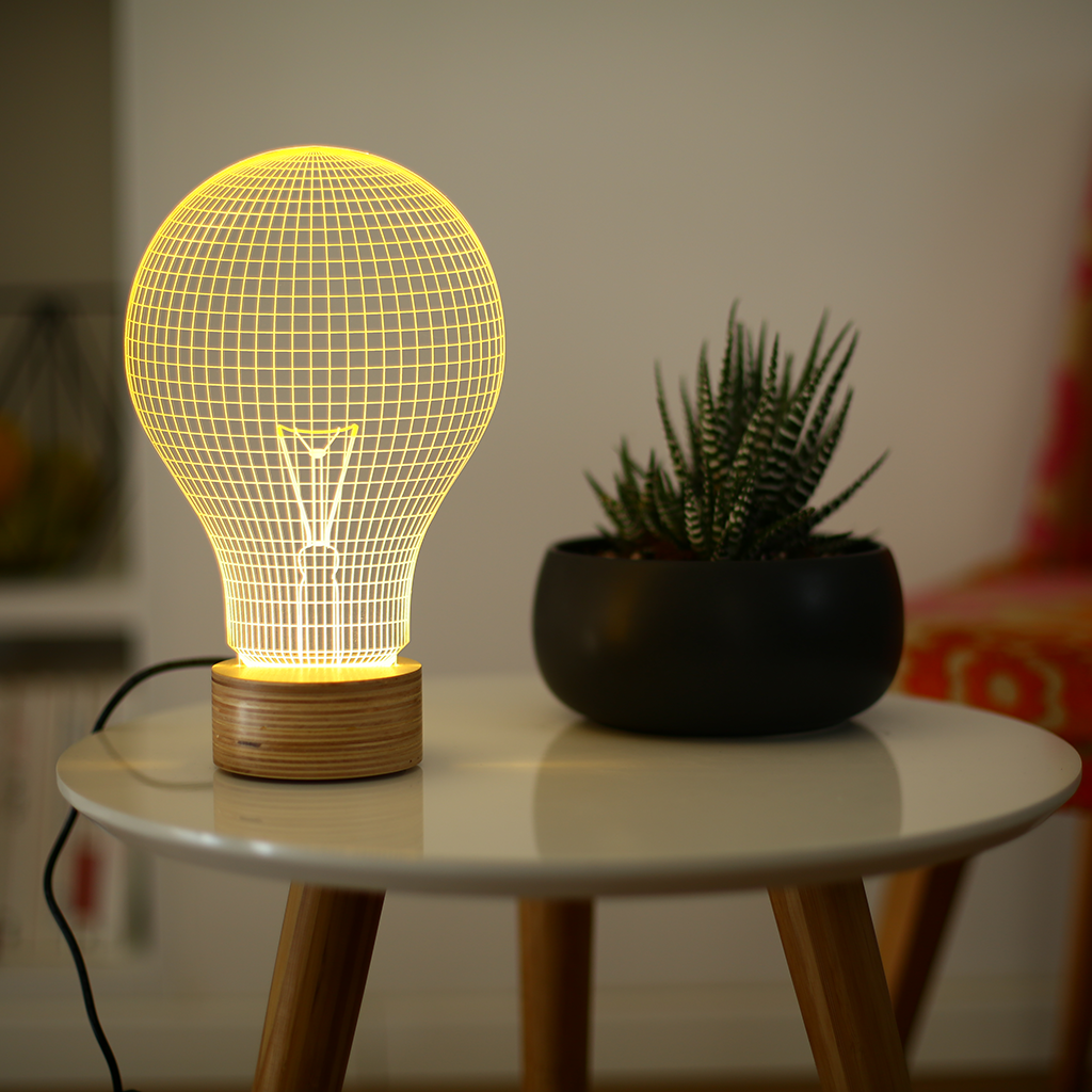 Studio Cheha - Yellow Bulb Lamp