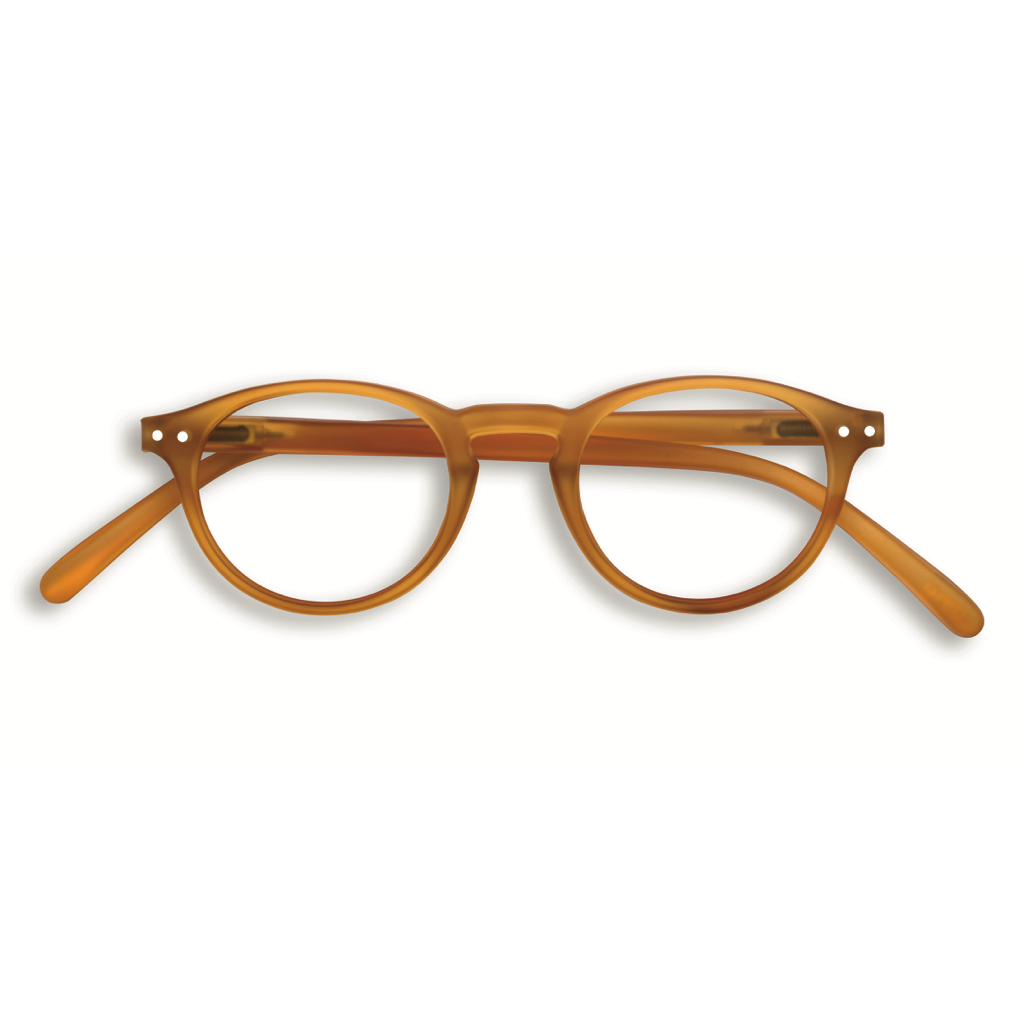 Reading Glasses - A - Yellow Ochre