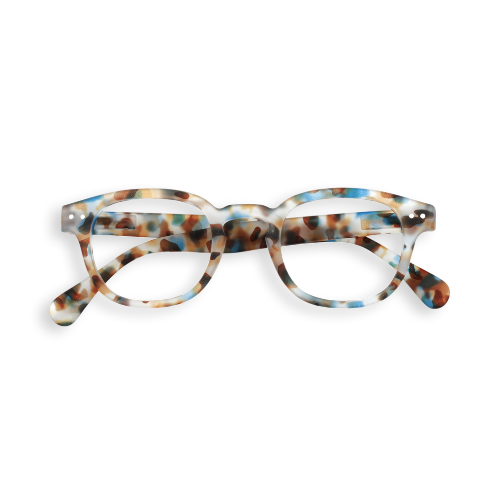 Junior Screen Glasses - C - Blue Tortoise