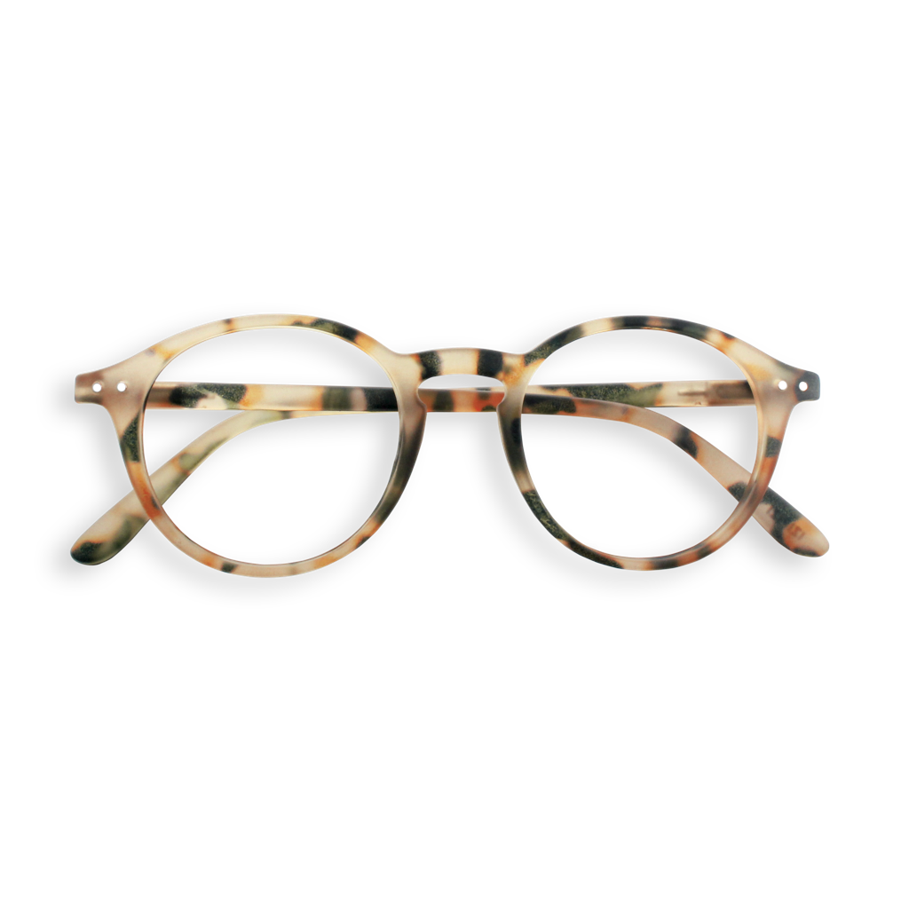Reading Glasses - D - Light Tortoise