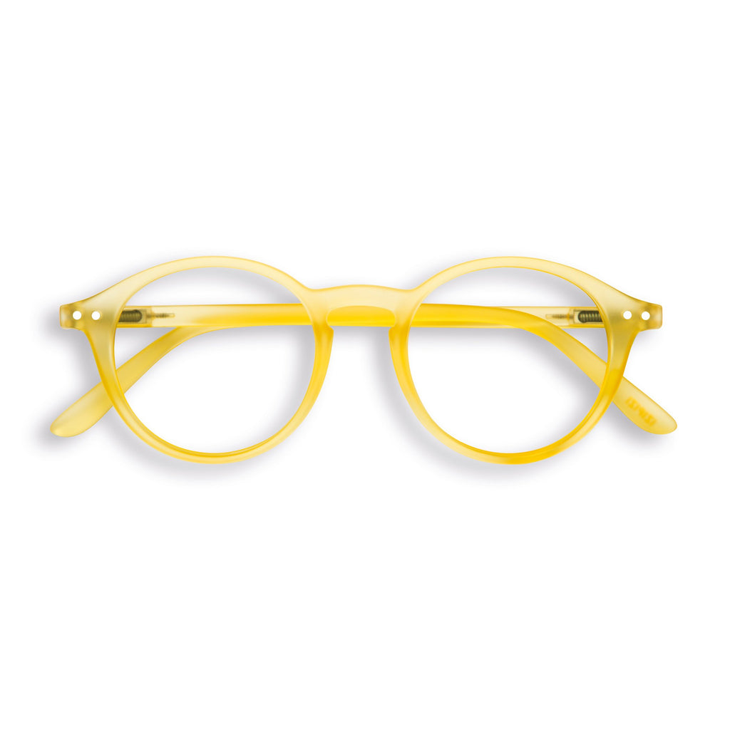 Reading Glasses - D - Yellow Chrome