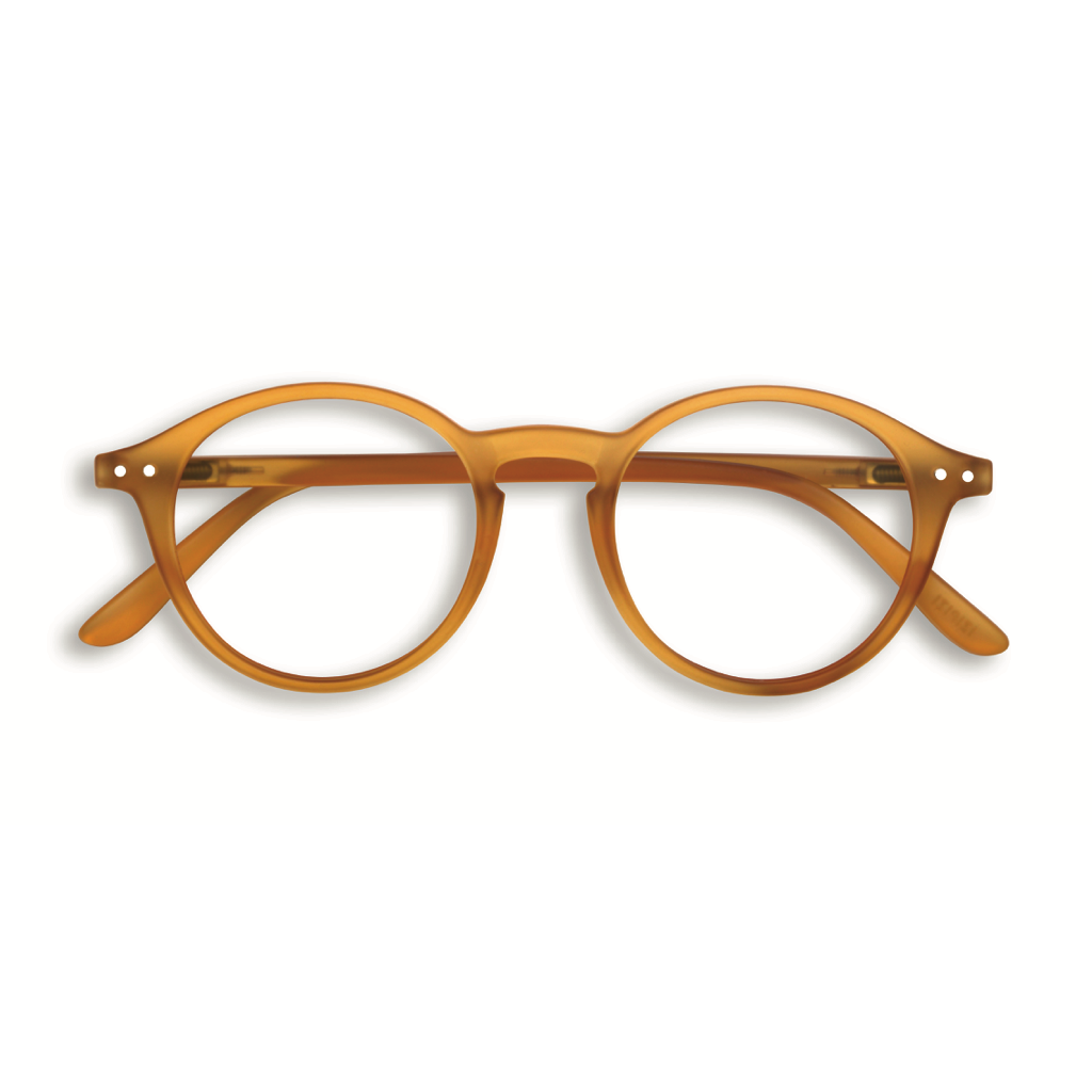 Reading Glasses - D - Yellow Ochre