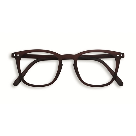 IZIPIZI - Screen Glasses - E - Dark Wood - No Diopter