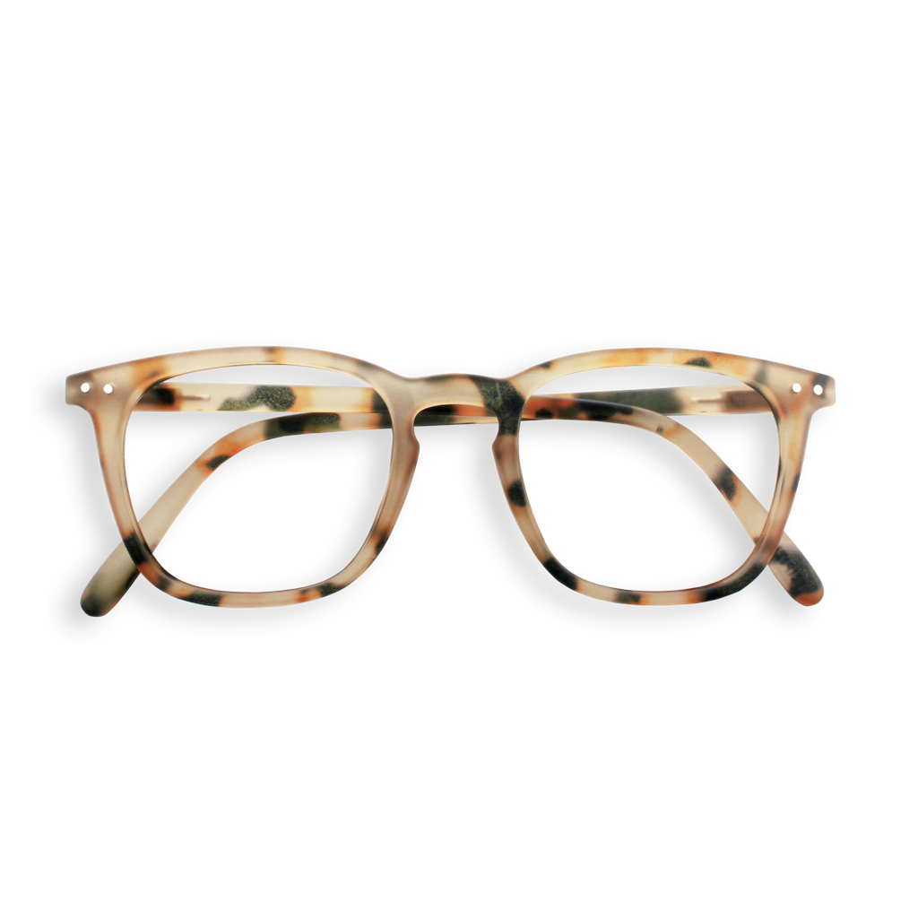 Screen Glasses - E - Light Tortoise