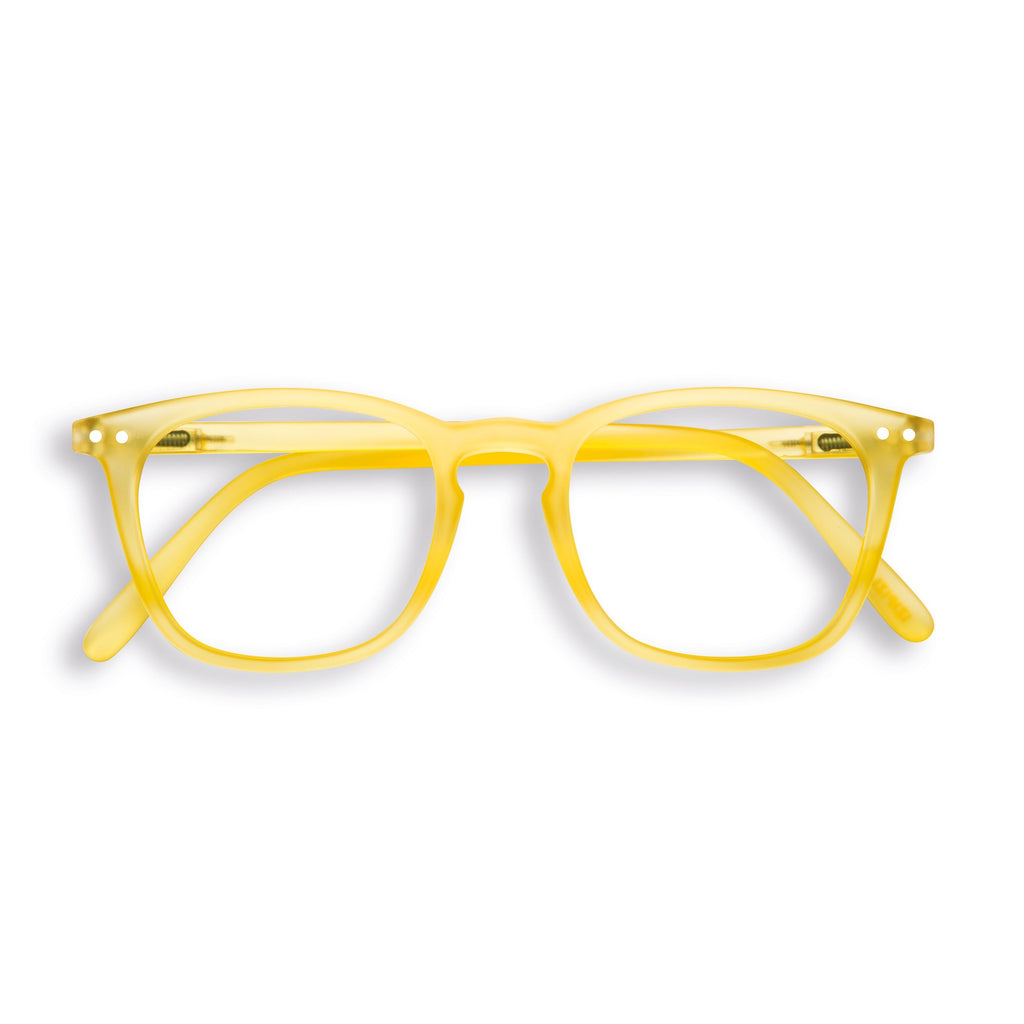 Reading Glasses - E - Yellow Chrome