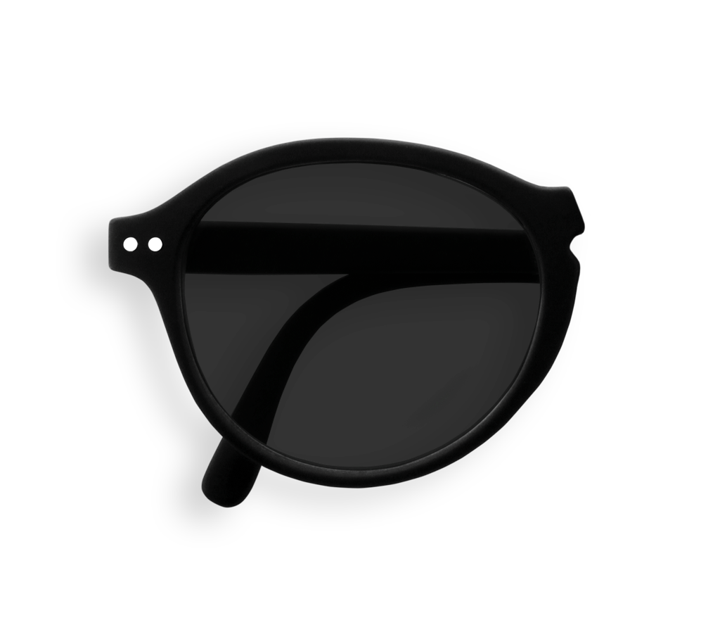 Foldable Sunglasses - F - Black