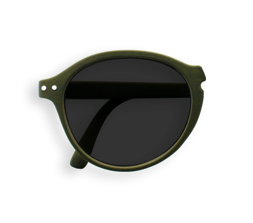 Foldable Sunglasses - F - Khaki