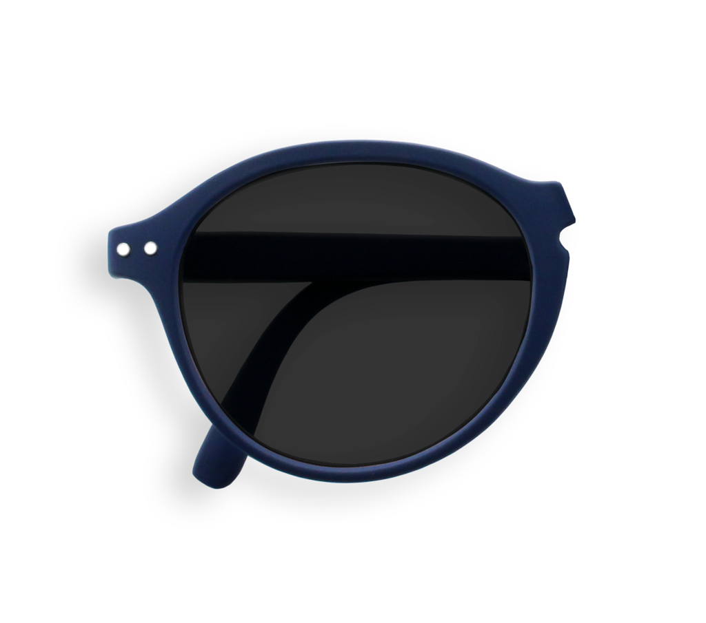 Foldable Sunglasses - F - Navy Blue