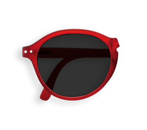 IZIPIZI - Foldable Sunglasses - F - Red - No Diopter