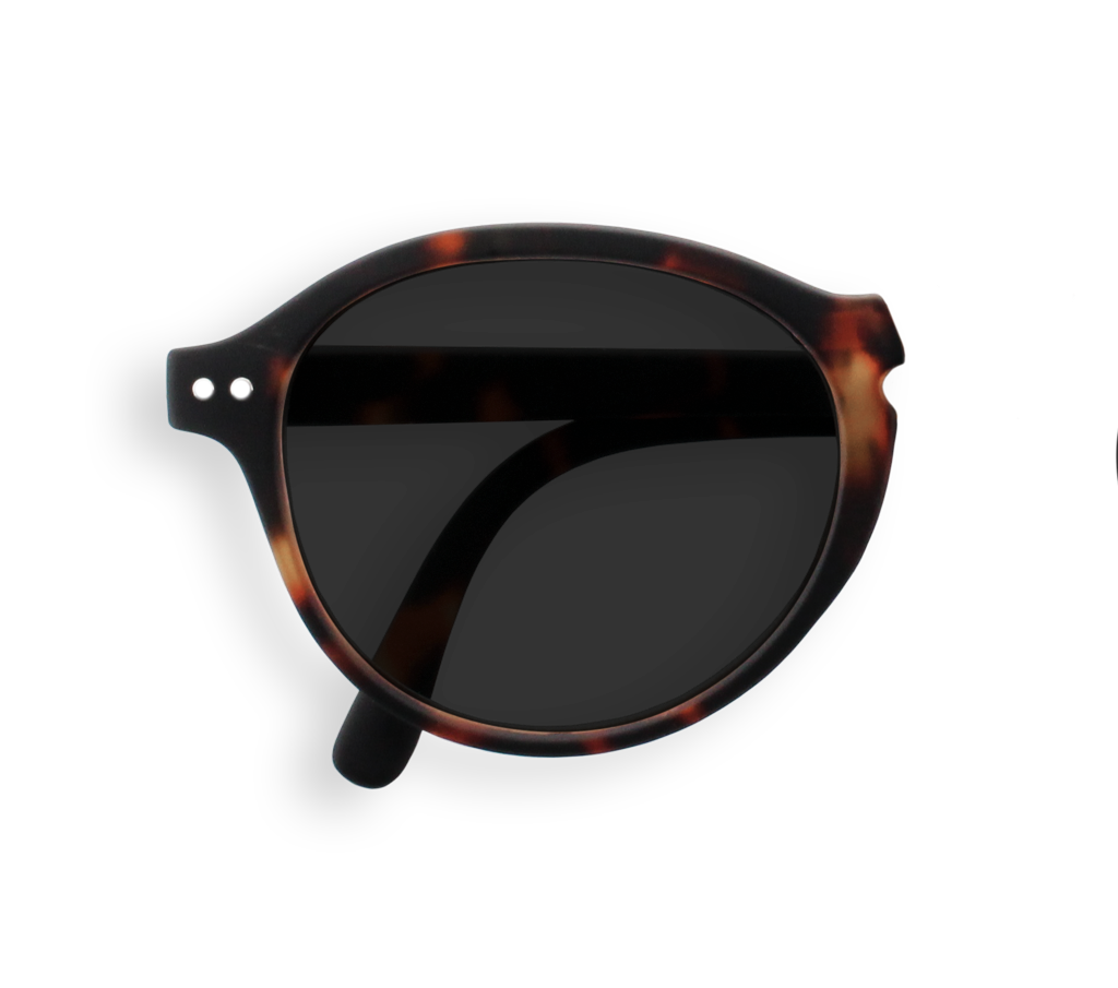 Foldable Sunglasses - F - Tortoise
