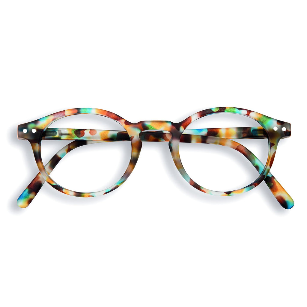 Screen Glasses - H - Blue Tortoise  - No Diopter