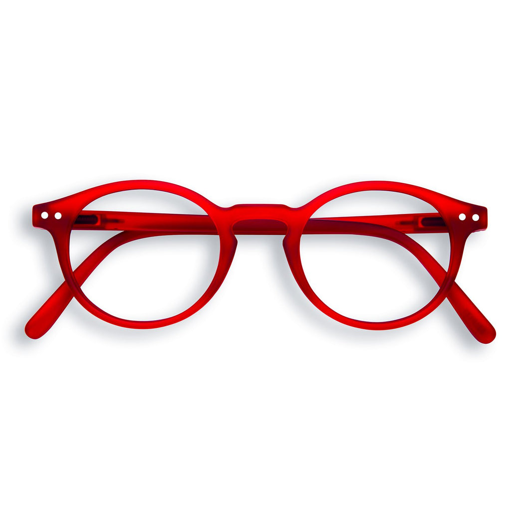Screen Glasses - H - Red Crystal  - No Diopter
