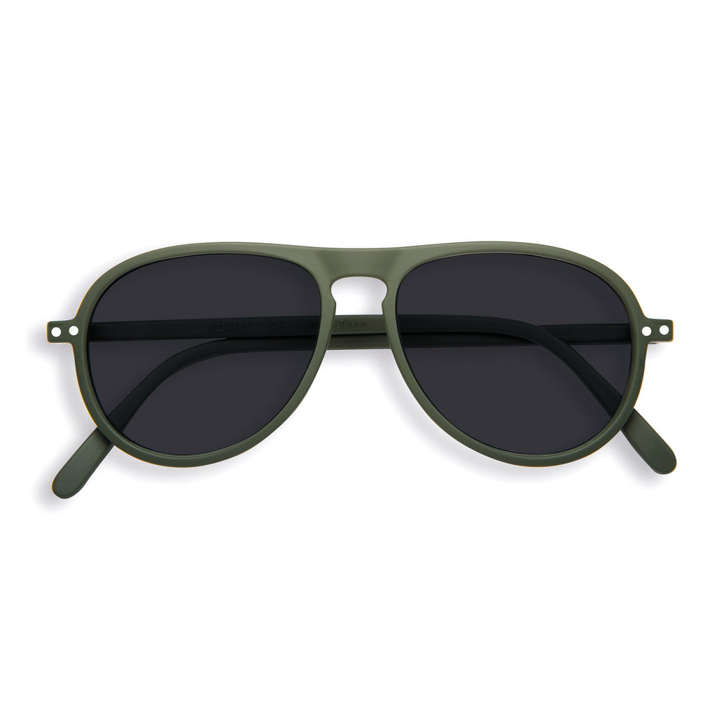 Sunglasses - I - Khaki Green