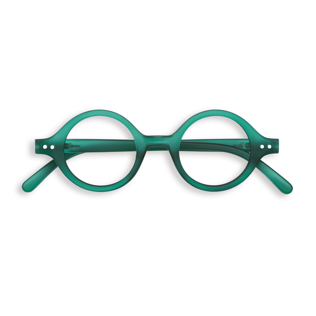 Reading Glasses - J - Green Crystal
