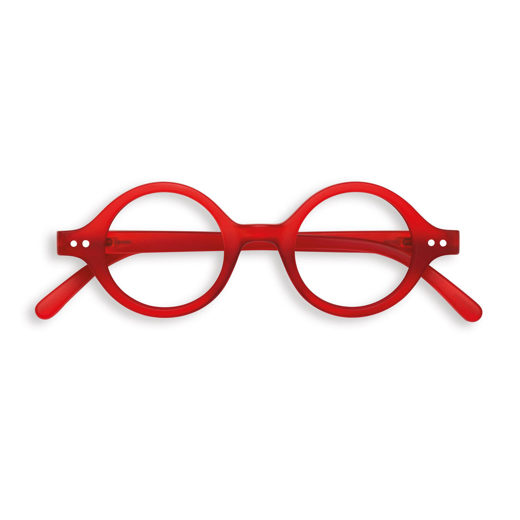 Reading Glasses - J - Red Crystal