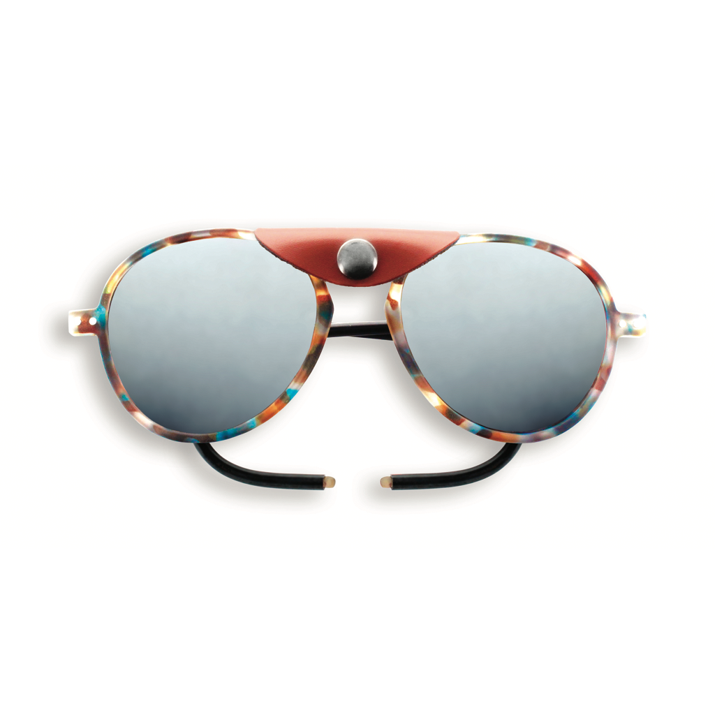 Glacier Plus Sunglasses - Blue Tortoise - Polarized