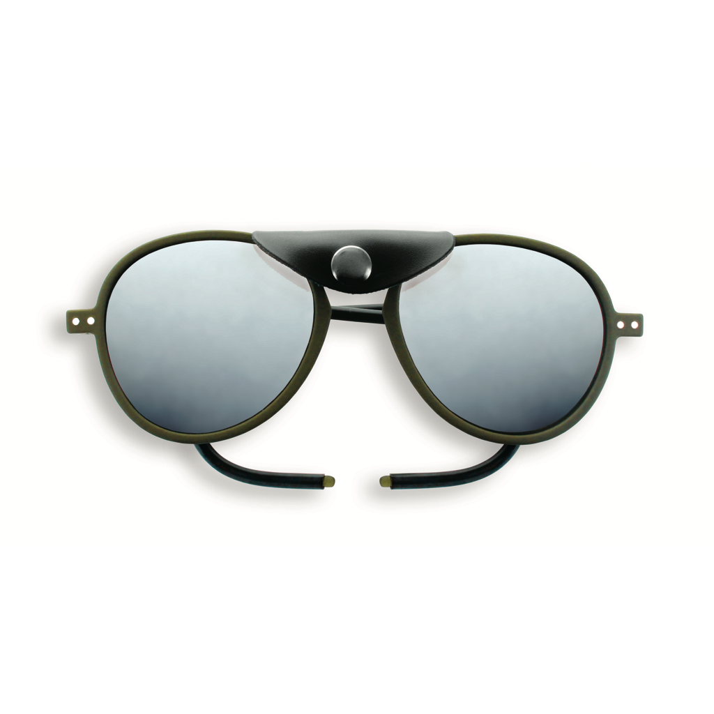 Glacier Plus Sunglasses - Khaki - Polarized