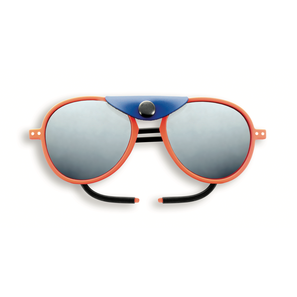 Glacier Plus Sunglasses - Orange Neon - Polarized