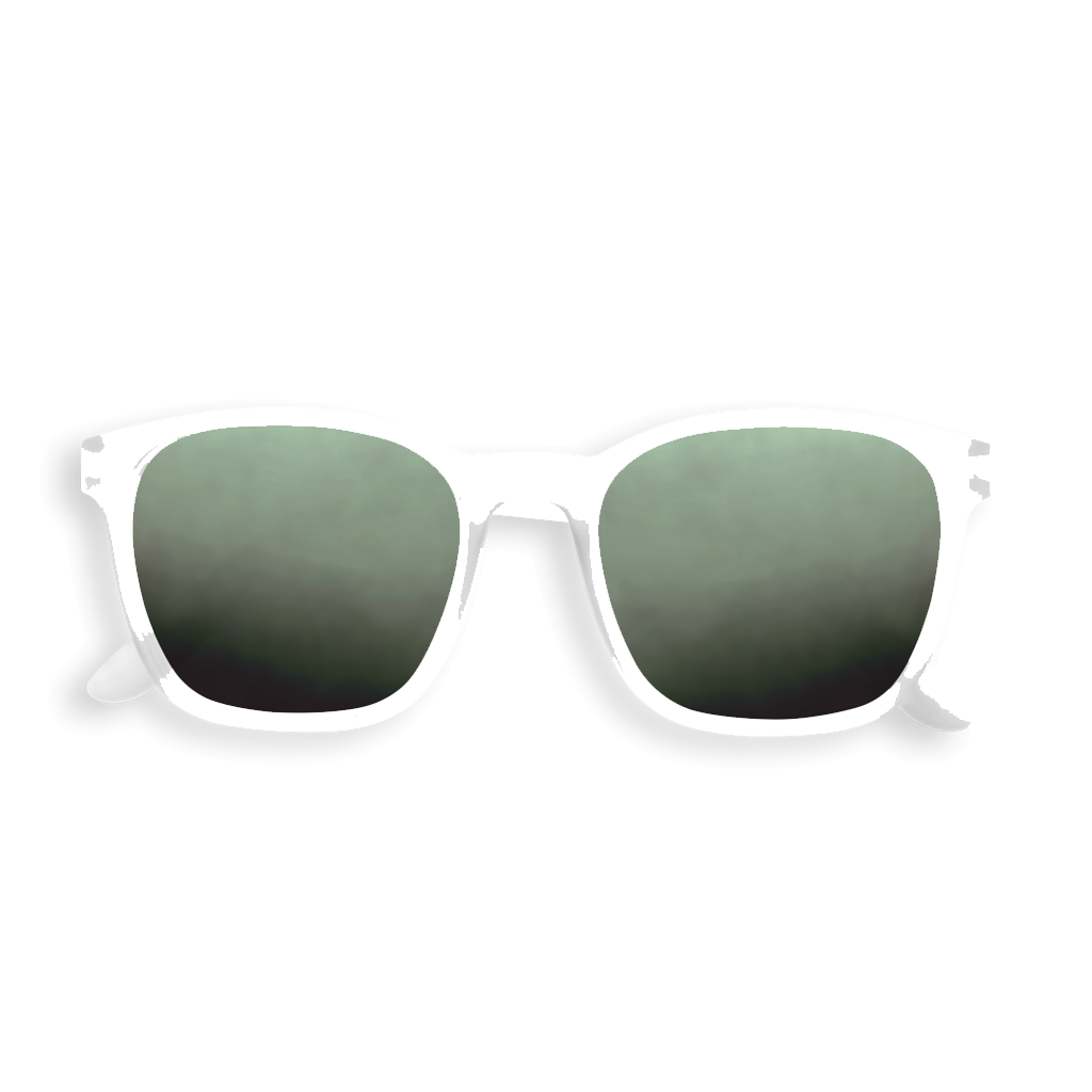 Nautic Sunglasses - White - Polarized
