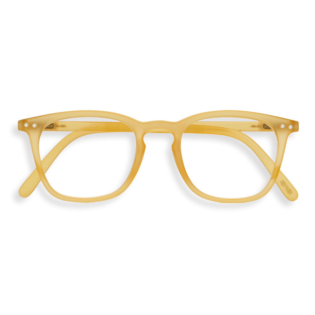 Reading Glasses - E - Yellow Honey
