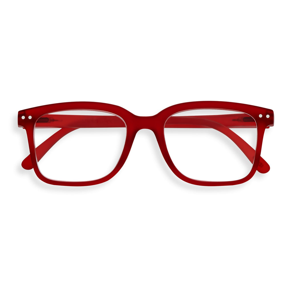 Reading Glasses - L - Red Crystal