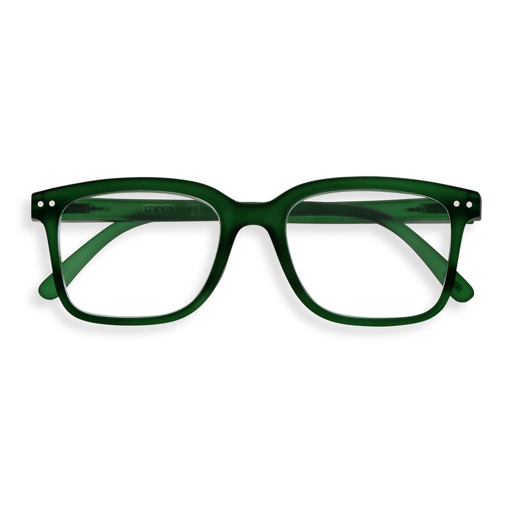 Reading Glasses - L - Green Crystal