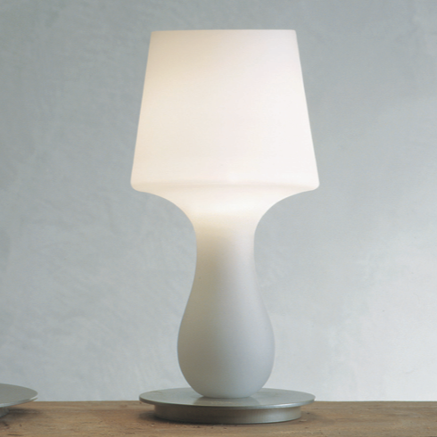 Produzione Privata - Fata & Fatina Glass Table Lamp