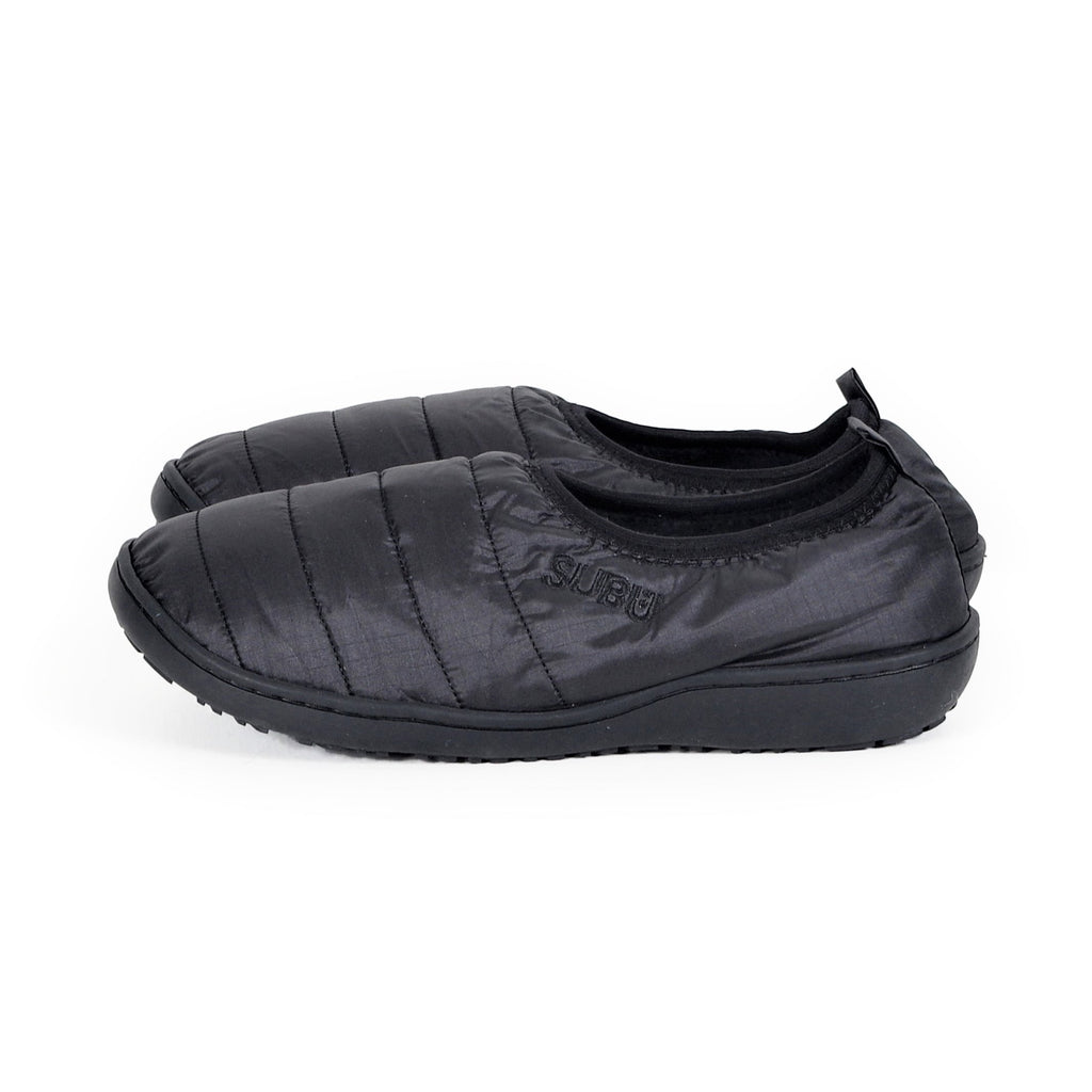 Packable Slippers - Gloss Black