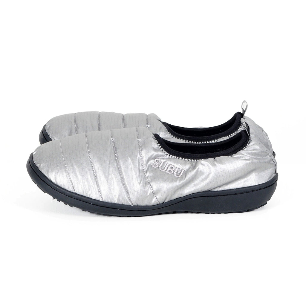 Packable Slippers - Foil Silver