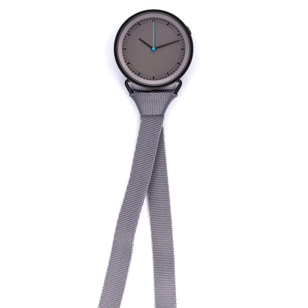 MUW - Kasper & Rikke Salto - Neck Watch - Gray Dial
