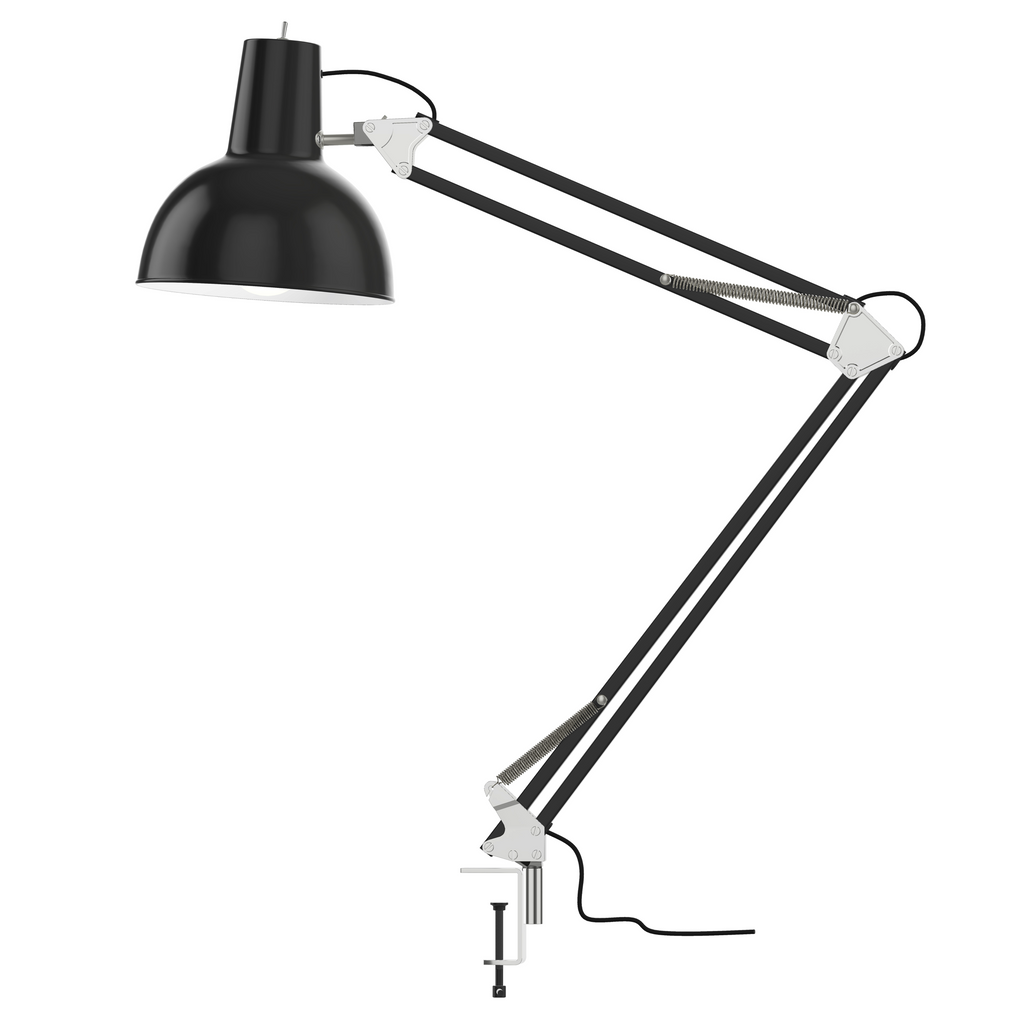 Spring Balanced Clamp Lamp