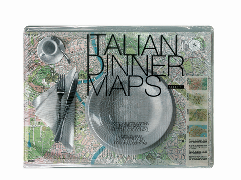 Place Maps - Laminated Italian Map Placemats