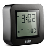 Braun - Digital Travel Alarm Clock BN-C018 - Promotional Clock