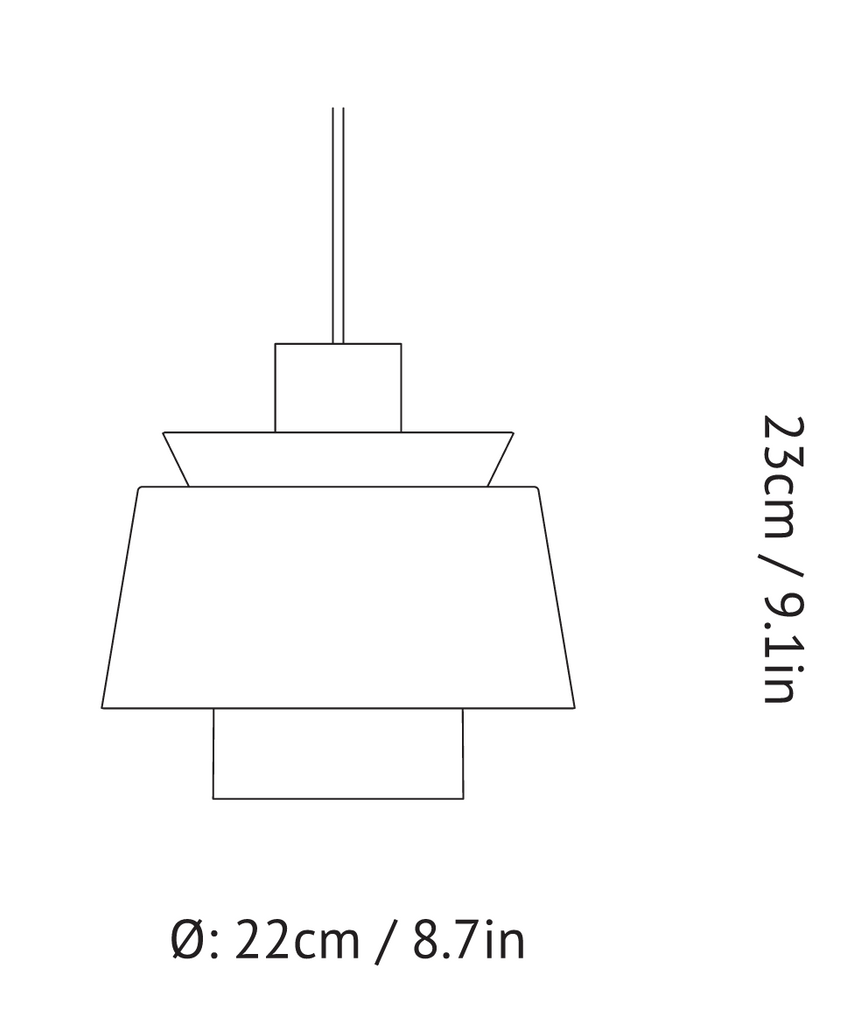 &tradition - JU1 Utzon Pendants
