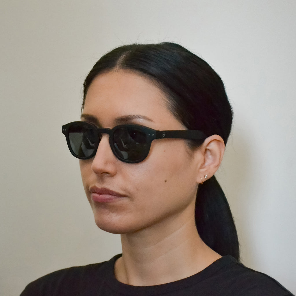 Sunglasses - C - Navy Blue