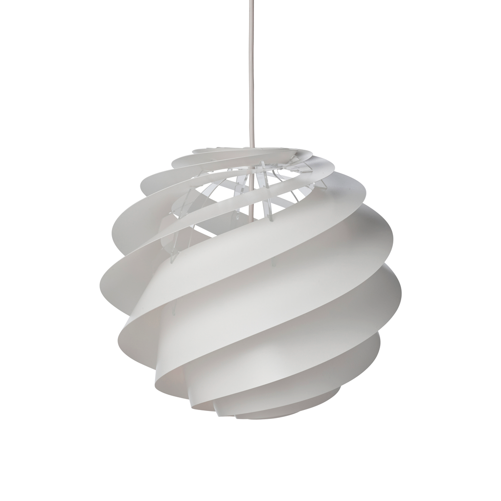 Swirl Pendant Lamp, small, no. 3