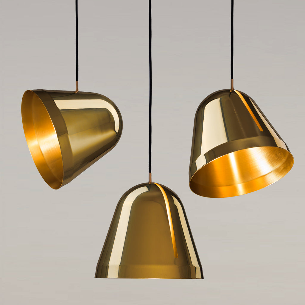 Tilt Brass Pendant Lamp, large