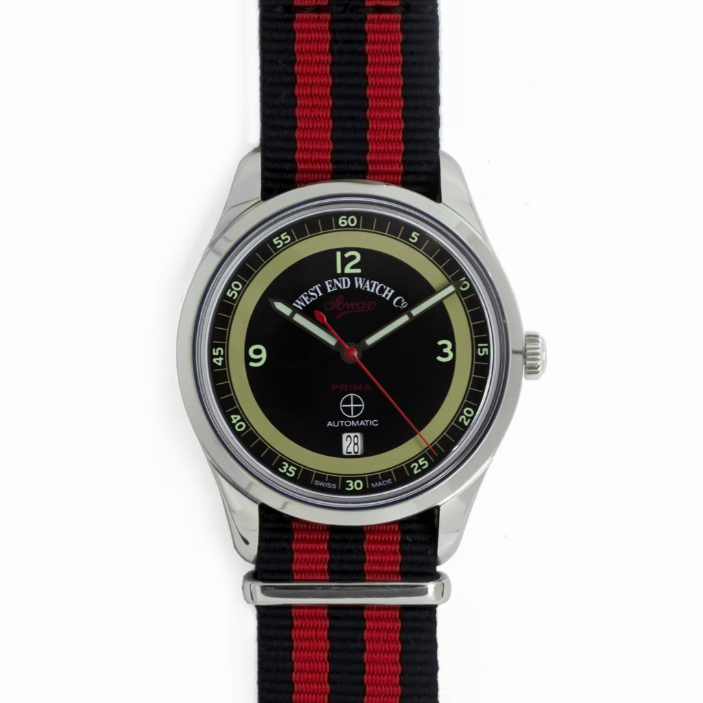 West End Watch Co. - Sowar Prima - Black Dial