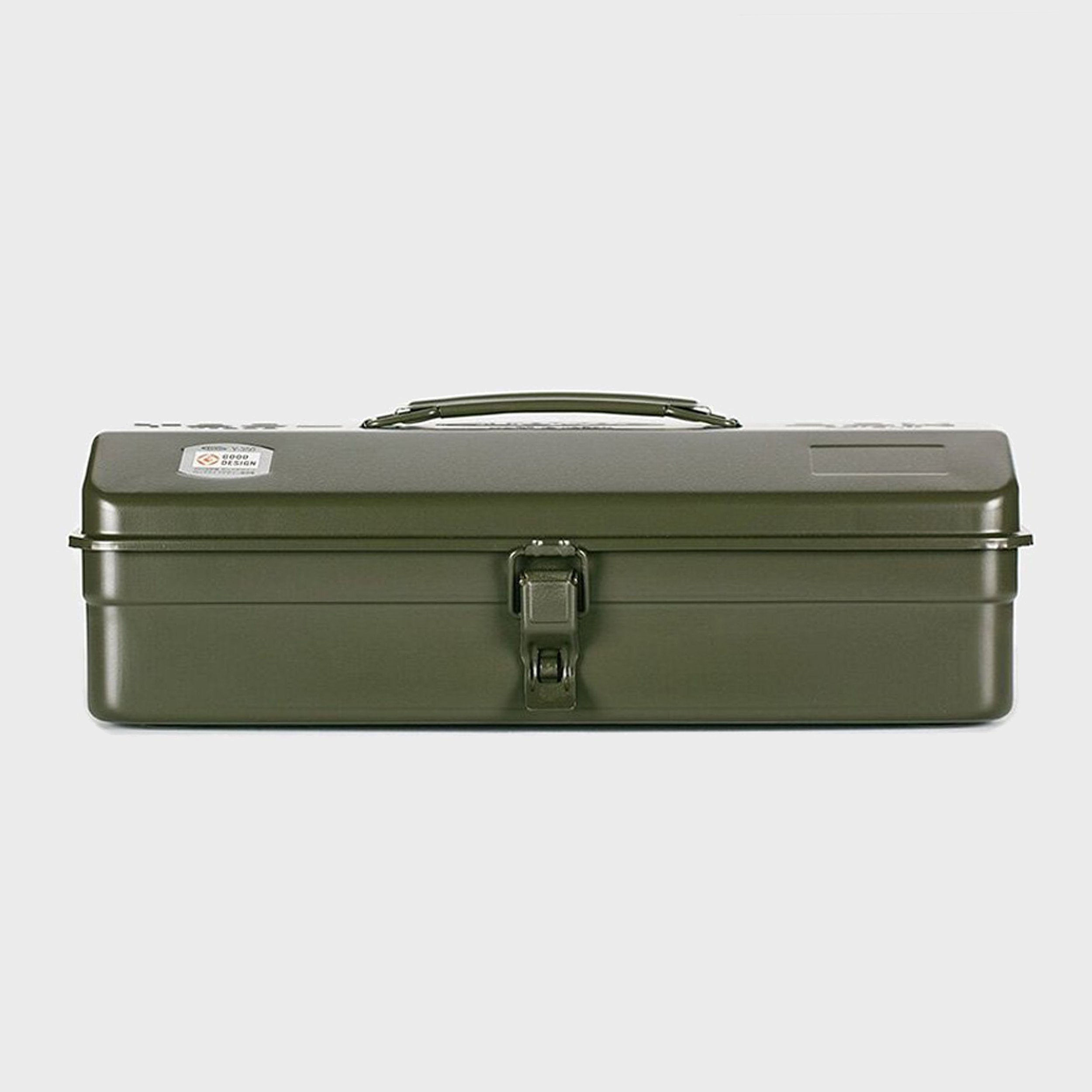 Steel Toolbox with Top Handle and Camber Lid, style Y-350
