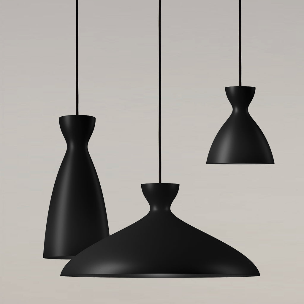 Pretty Pendant Lamp, black
