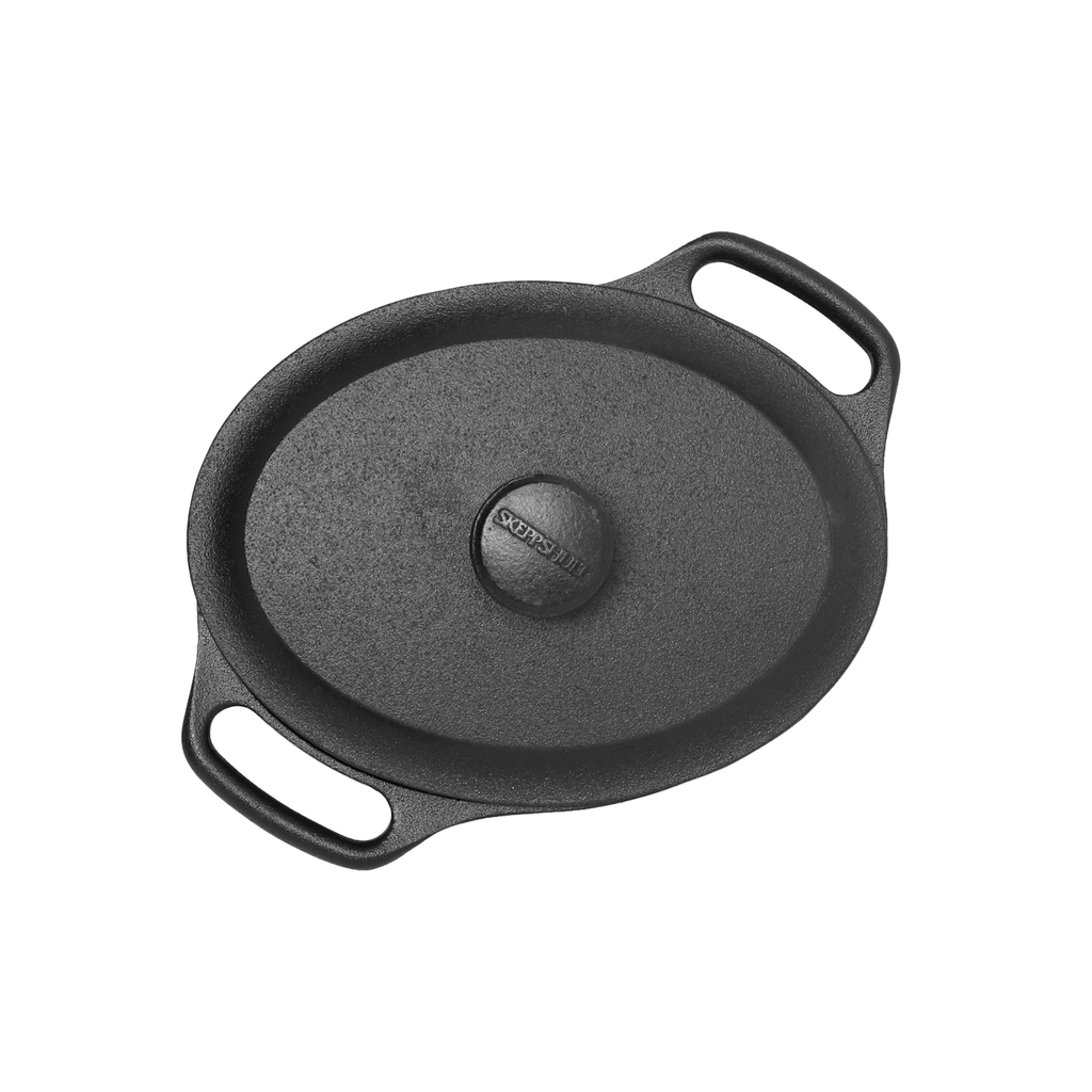 Oval Casserole with Lid, 2L