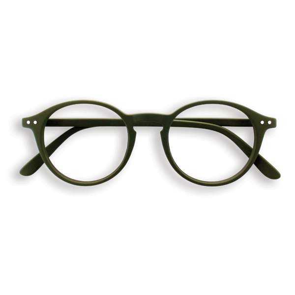 Screen Glasses - D - Khaki - No Diopter